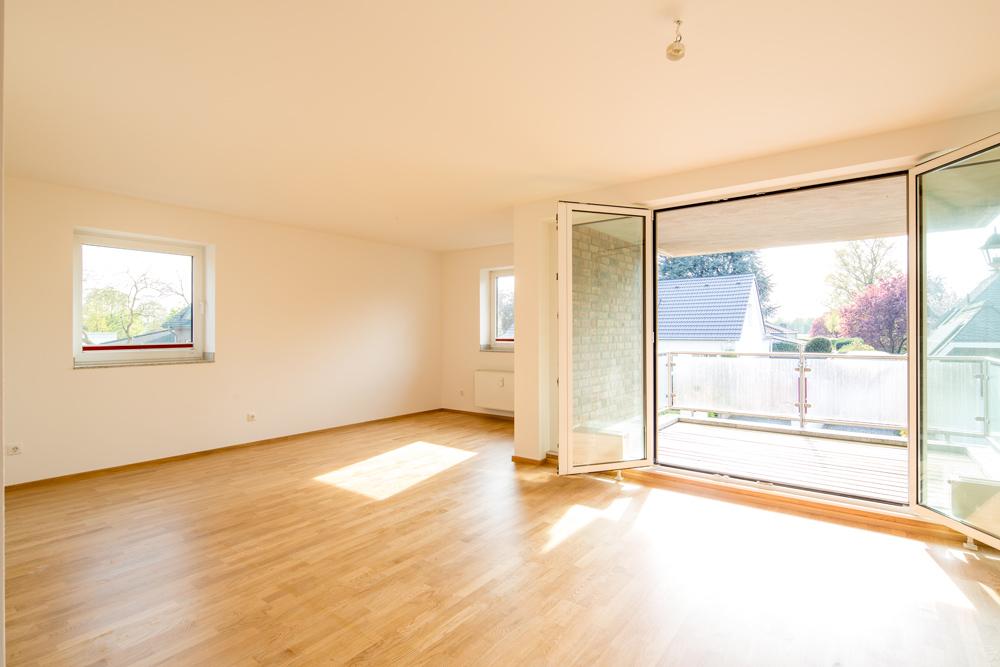 Immobilienmakler Meerbusch Büderich - Wohnung auf der Blumenstraße zu verkaufen