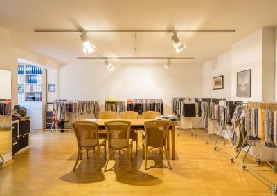 Immobilienmakler Düsseldorf Oberkassel - Showroom auf der Quirinstraße am Belsenplatz zu verkaufen