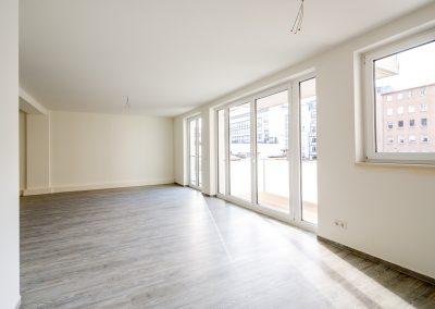 Immobilienmakler Düsseldorf Friedrichstadt - Neubauwohnung auf der Friedrichstraße nahe der Königsallee zu verkaufen